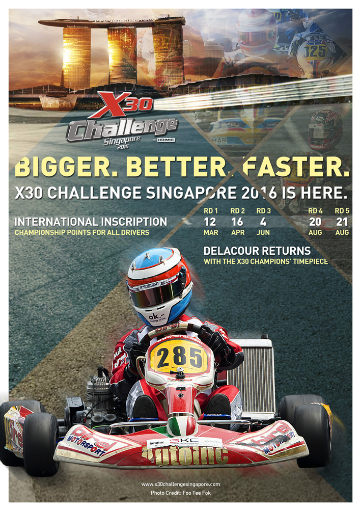 A FLASH NEWS FROM X30 CHALLENGE SINGAPORE