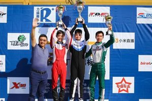 Ricciardo China dominates podium in CKC Round 4