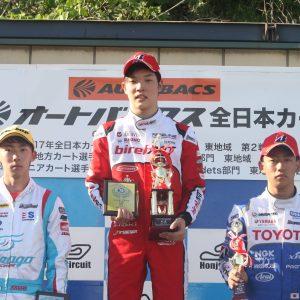 全日本選手権OK・RD 4  TEAM BirelART の名取鉄平選手が激戦を制して優勝!