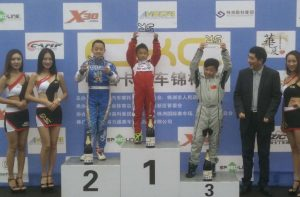 A young Xiaoyu won 2017 CKC title!