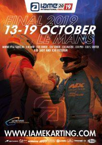 2019 IAME International Final – Le Mans・France